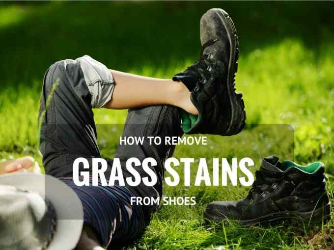 Grass Stains from Shoes
